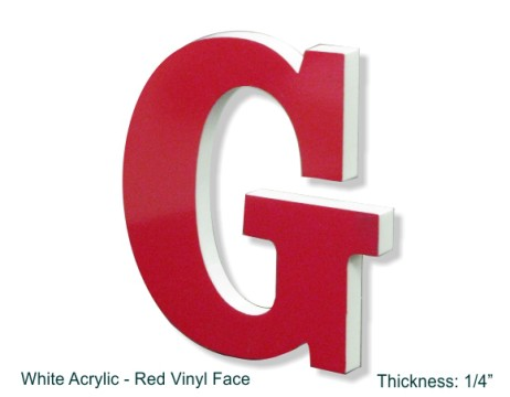 Acrylic Letters Numbers And Logos