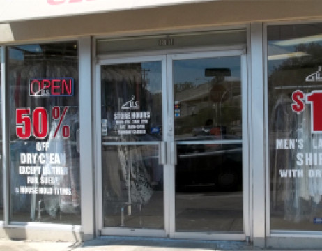 Storefront Window Vinyl Graphics Package 3 Woosigns